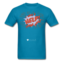 "Load image into Gallery viewer, TC ""Help! I Have A Young Adult"" Unisex Classic T-Shirt - turquoise"