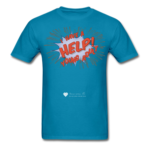 "TC ""Help! I Have A Young Adult"" Unisex Classic T-Shirt - turquoise"
