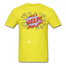 "Load image into Gallery viewer, TC ""Help! I Have A Young Adult"" Unisex Classic T-Shirt - yellow"