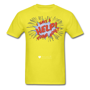 "TC ""Help! I Have A Young Adult"" Unisex Classic T-Shirt - yellow"