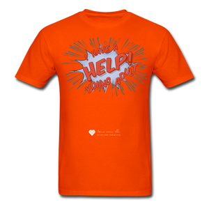 "TC ""Help! I Have A Young Adult"" Unisex Classic T-Shirt - orange"