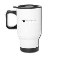 "Load image into Gallery viewer, TC ""Homeschool Mom on the Run"" Travel Mug - white"