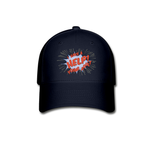 "TC ""Help! I Have a Young Adult"" Baseball Cap - navy"