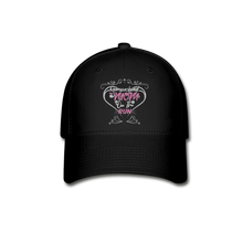 "Load image into Gallery viewer, TC ""Homeschool Mom on the Run"" Baseball Cap - black"