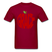 Load image into Gallery viewer, AoG Grace Unisex Classic T-Shirt - dark red