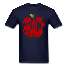 Load image into Gallery viewer, AoG Grace Unisex Classic T-Shirt - navy