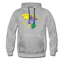 Load image into Gallery viewer, Captain Yolk Men's Premium Hoodie - heather gray