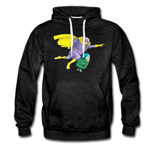 Load image into Gallery viewer, Captain Yolk Men's Premium Hoodie - charcoal gray
