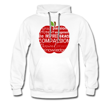 Load image into Gallery viewer, AoG Compassion Men's Premium Hoodie - white