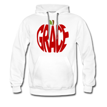 Load image into Gallery viewer, AoG Grace Men's Premium Hoodie - white