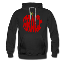 Load image into Gallery viewer, AoG Grace Men's Premium Hoodie - black
