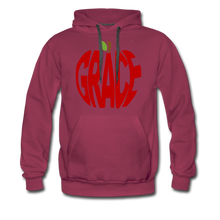 Load image into Gallery viewer, AoG Grace Men's Premium Hoodie - burgundy