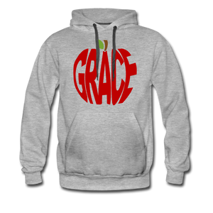 AoG Grace Men's Premium Hoodie - heather gray