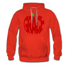 Load image into Gallery viewer, AoG Grace Men's Premium Hoodie - red