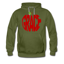 Load image into Gallery viewer, AoG Grace Men's Premium Hoodie - olive green