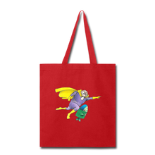 Load image into Gallery viewer, Captain Yolk Tote Bag - red