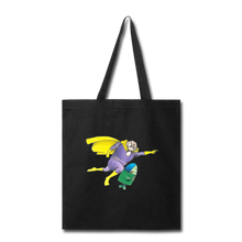Load image into Gallery viewer, Captain Yolk Tote Bag - black