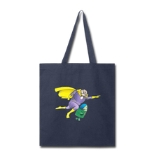 Load image into Gallery viewer, Captain Yolk Tote Bag - navy
