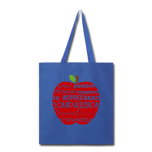 AoG Compassion Tote Bag - royal blue