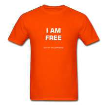 Load image into Gallery viewer, I Am Free Unisex Standard T-Shirt - orange