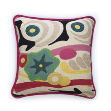 Load image into Gallery viewer, Pink Abstract Impression Jacquard Cushion