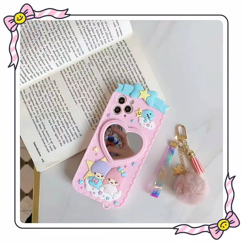 Little Twin Star Mirror Phone Case