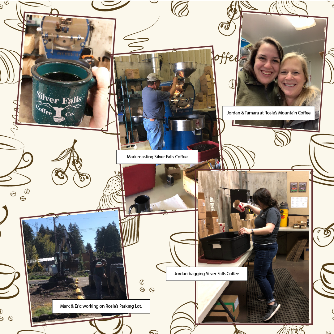 Silver Falls Coffee & Rosie Mountain Coffee House - Family Owned Business - Silverton Oregon