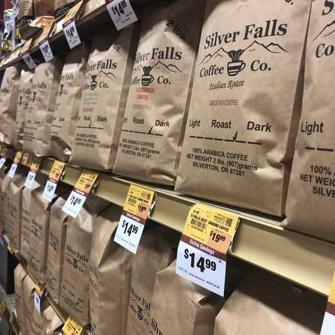 Find Silver Falls Coffee at your favorite local Oregon retailer