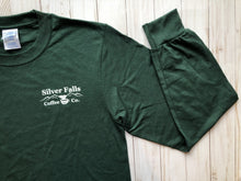 Load image into Gallery viewer, Dark Green Long Sleeve Tshirt