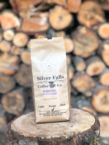 Silver Falls Coffee Co. Sumatra Fair Trade Organic