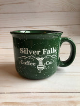 Load image into Gallery viewer, Coffee Mug - Silver Falls Coffee logo
