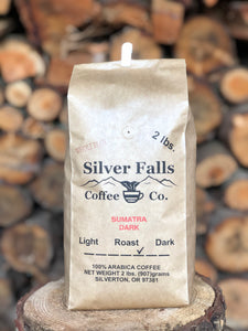 Silver Falls Coffee Co. Sumatra Dark - whole bean or ground