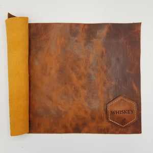 Whiskey American Bison Leather
