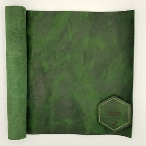 Jade American Bison Leather