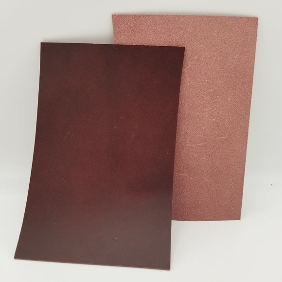 Bordeaux Italian Buttero Leather