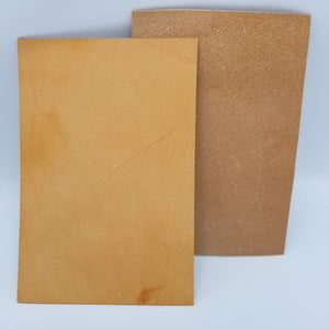Natural Italian Buttero Leather
