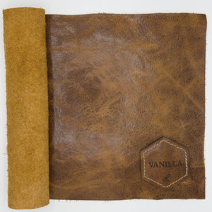Vanilla American Bison Leather