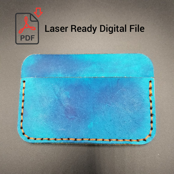 Laser Ready Digital File - 3 Card Holder - Awl the Things