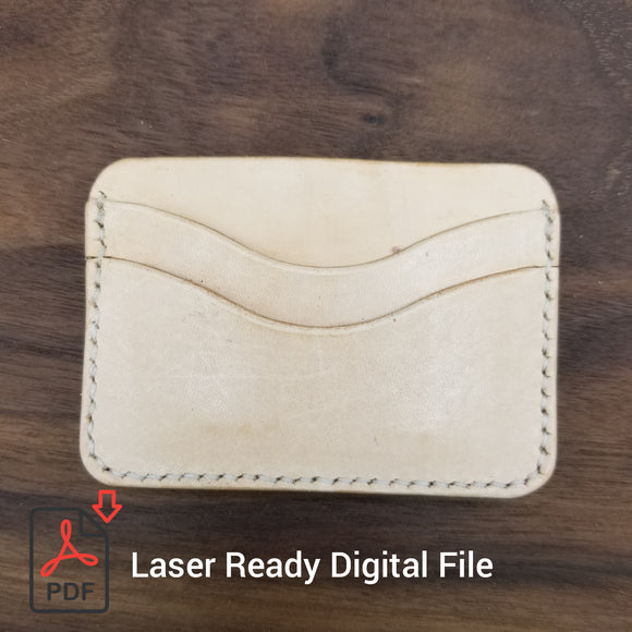 Laser Ready Digital File - 5 Card Holder - Awl the Things