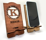 Monogram Phone Stand Personalize
