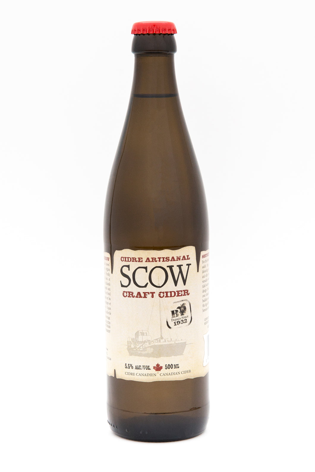 Cidre SCOW Cider Bottle 500ml