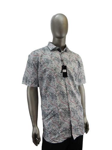 Black Ice | S9BI4053 | Short Sleeve Shirts | Grey