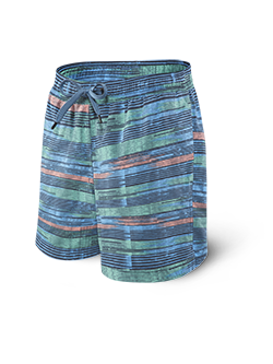 Saxx | SXSS30 | Cannonball 2N1 Swim Short | Blue Point Break