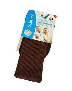 Simcan | Comfort Sock | Cotton | Brown