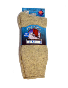 J.B. Field's | 8512 | 40 Below Icelandic Sock | Beige
