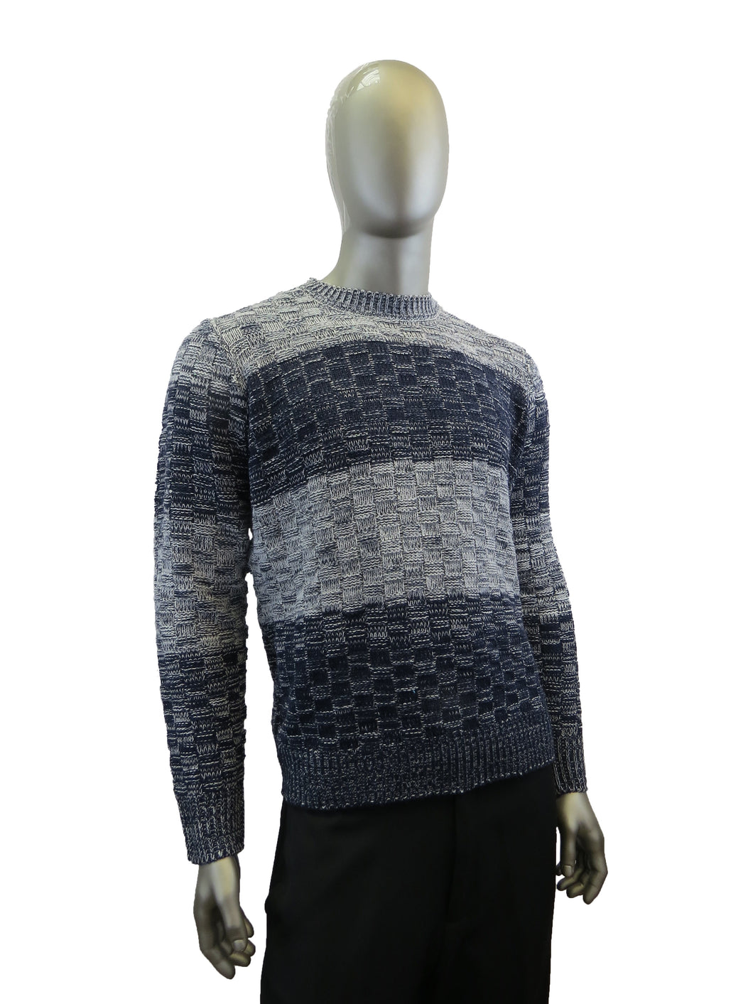 Sergio Louis | SWT-81202 | Sweater | Black/Grey