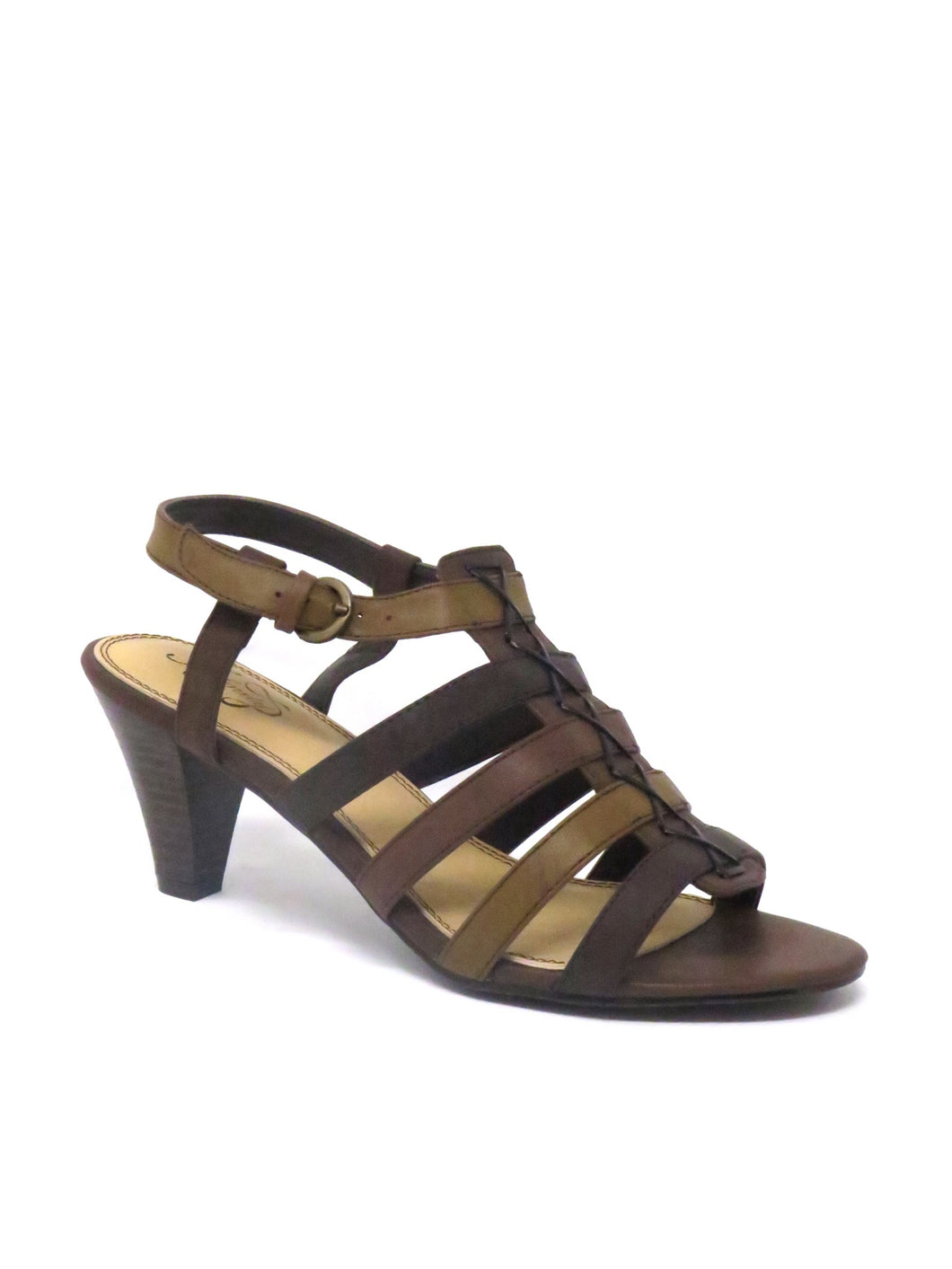 Infinity | 16-1705 | Dress Sandal | Walnut