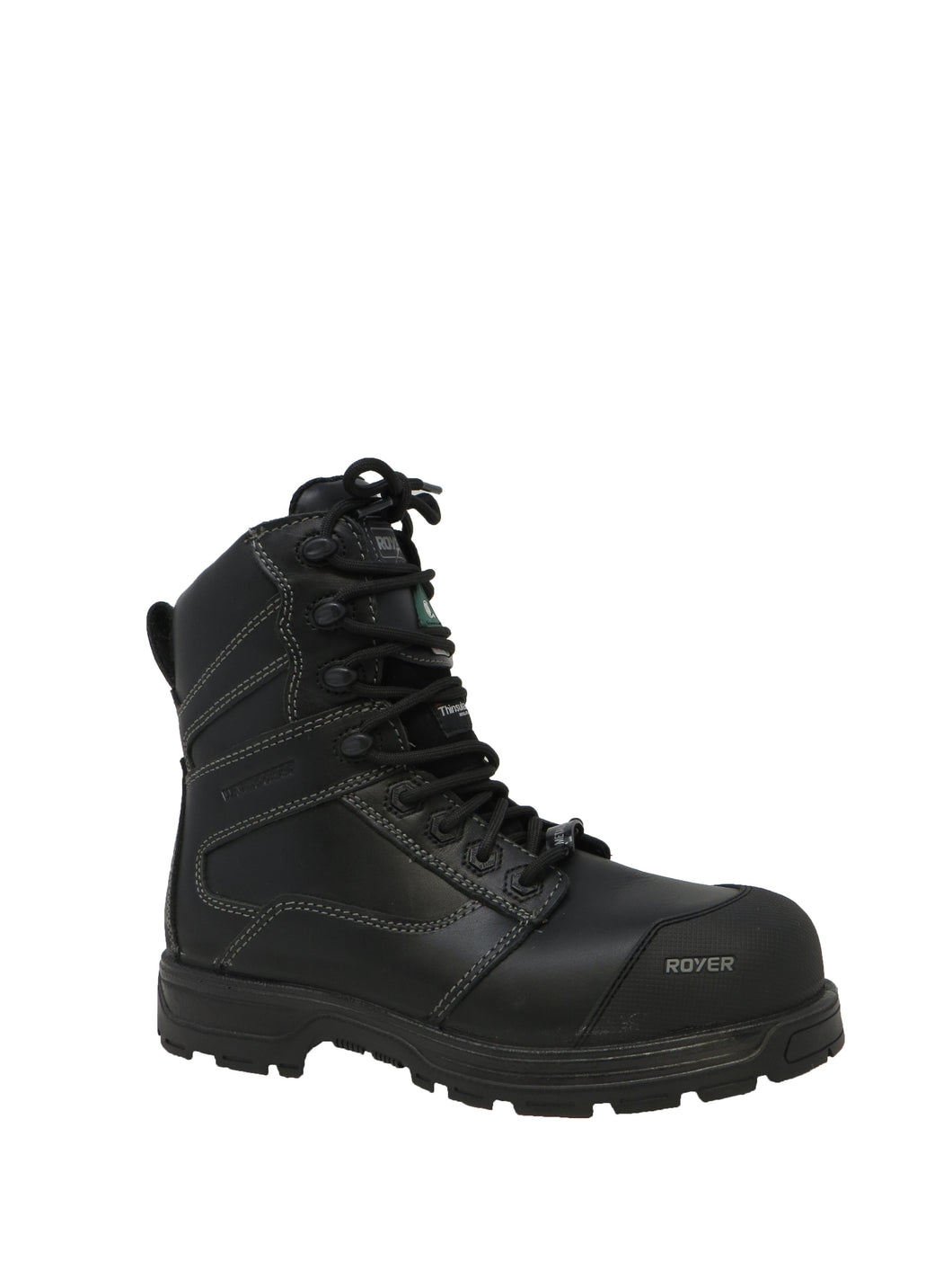 Royer | 5707AG | Arctic Grip Work Boot | Black