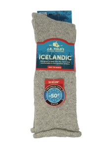 J. B. Field's | 8516 | 50 Below Icelandic Socks | Beige