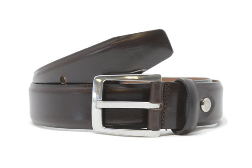 Bench Craft | Belt | 5058-2 | 35MM | Milled Calf |Nickel Free Buckle | Brown
